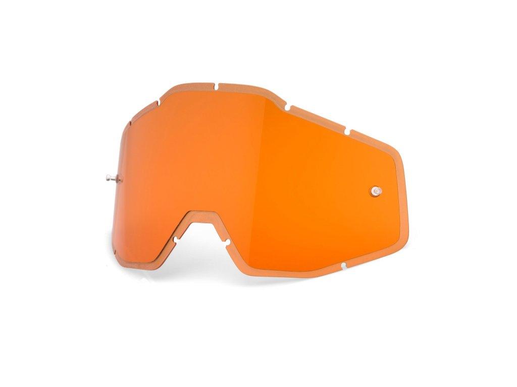 plexi 100% Injected Racecraft/Accuri/Strata oranžové, Anti-fog