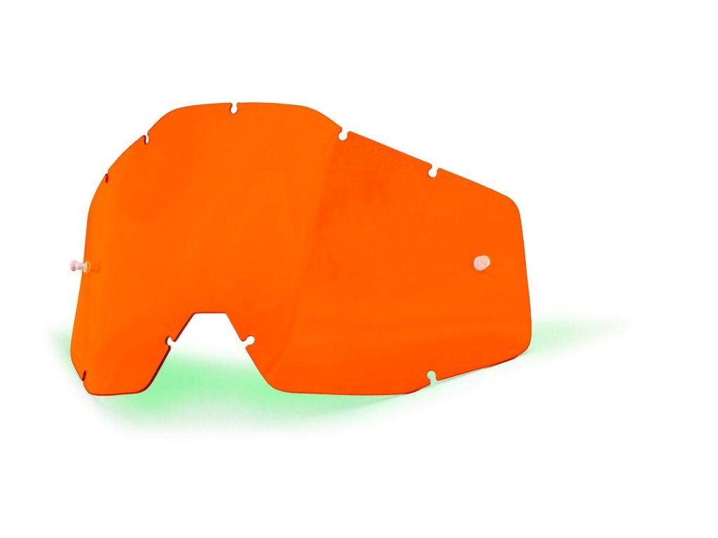 plexi 100% Racecraft/Accuri/Strata oranžové, Anti-fog