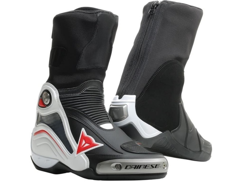 Dainese Axial D1 black white red lava 1