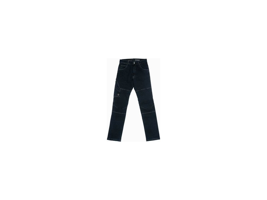 kevlarové jeansy SPIDI CRUDE NERO BLK