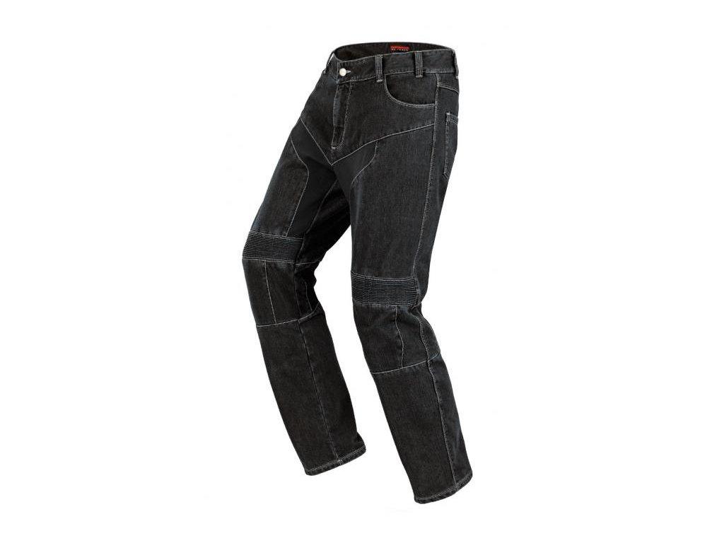 kevlarové jeansy SPIDI FURIOUS BLACK