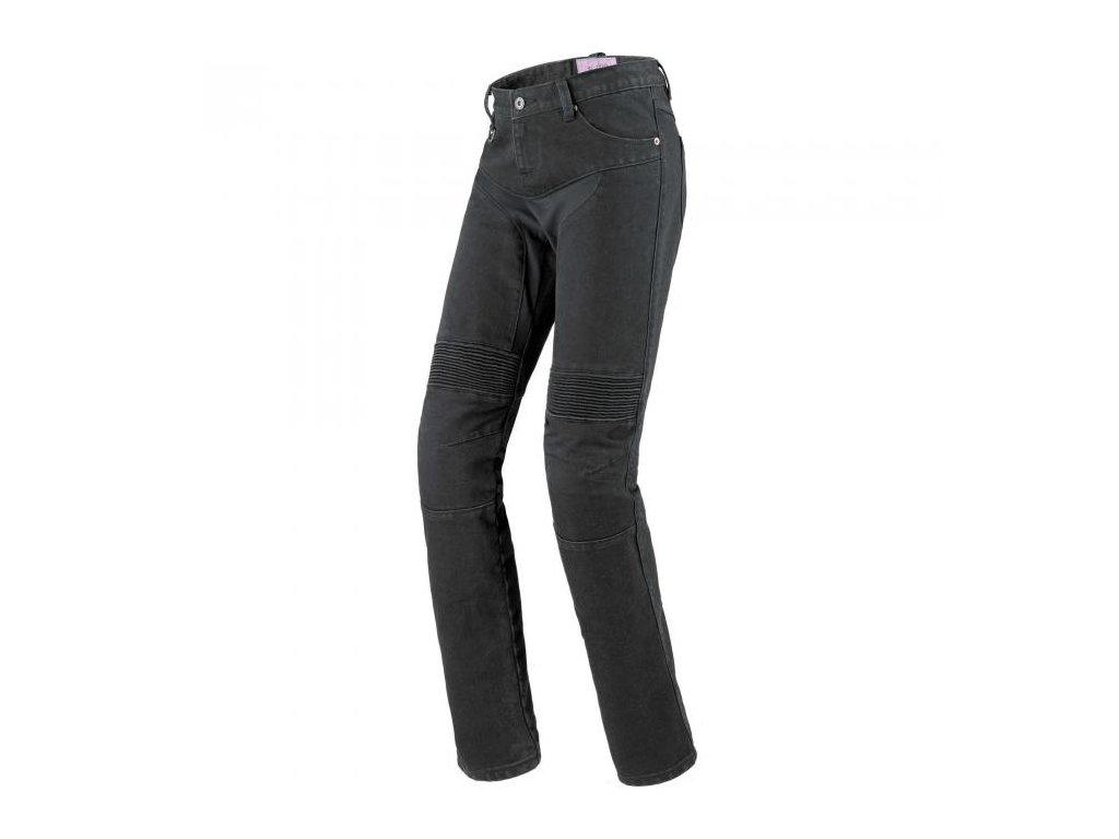 kevlarové jeansy SPIDI FURIOUS BLACK LADY