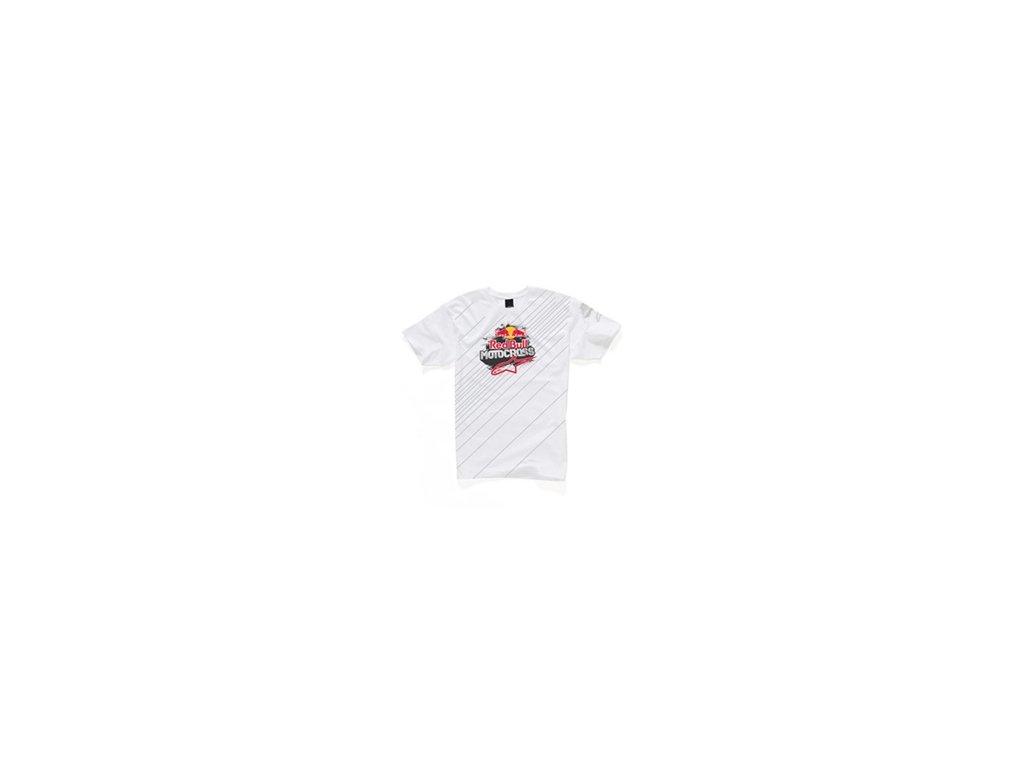 tričko ALPINESTARS TRIUMPHHANT WHITE
