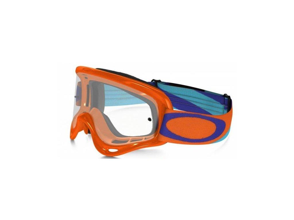 MX brýle OAKLEY O-FRAME HERITAGE RACER ORANGE čiré plexi
