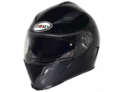 moto helma SUOMY HALO PLAIN MATT BLACK