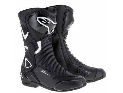 moto boty ALPINESTARS SMX 6 V2 STELLA BLACK WHITE
