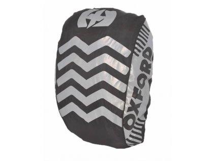 reflexni obal plastenka batohu bright cover oxford anglie cerna reflexni prvky s x v 640 x 720 mm