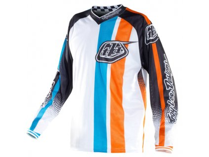MX dres TROY LEE DESIGNS GP AIR MONACO WHITE