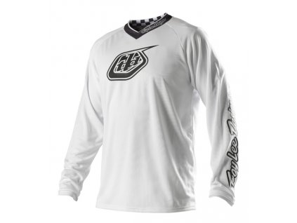 MX dres TROY LEE DESIGNS GP WHITE OUT