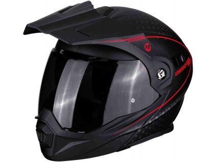 ADX 1 HORIZON Matt black Neon Red ml