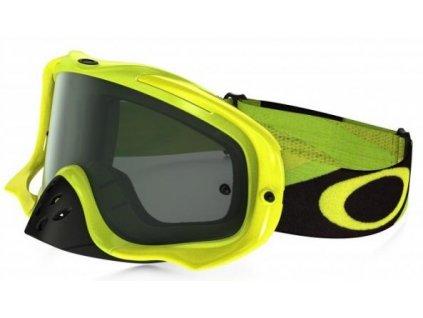 MX brýle OAKLEY CROWBAR HERITAGE RACER GREEN kouřové plexi
