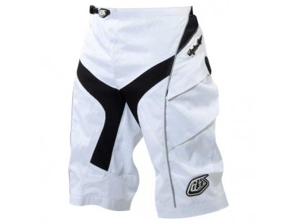 MX kraťasy TROY LEE DESIGNS SHORTS WHITE