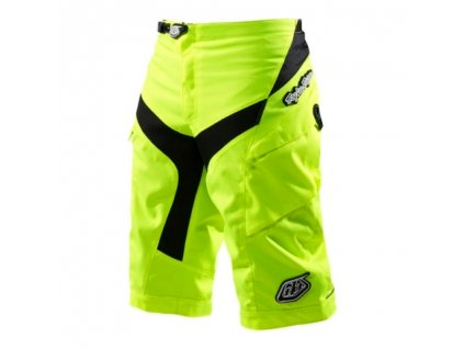 MX kraťasy TROY LEE DESIGNS SHORTS YELLOW