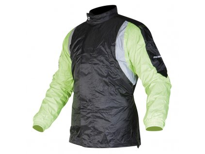 bunda proti dešti OZONE MARIN black/fluo yellow