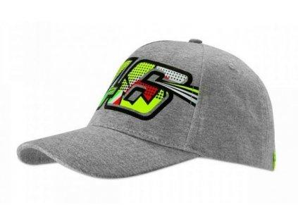 Dámská kšiltovka Valentino Rossi VR46 DOCTOR šedá 352105