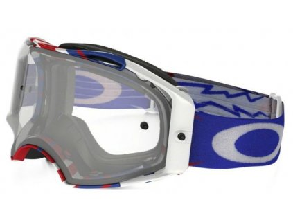 bryle oakley airbrake mx high voltage red white blue