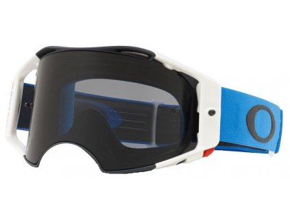 mx bryle oakley airbrake mx blue gunmetal dark grey lens