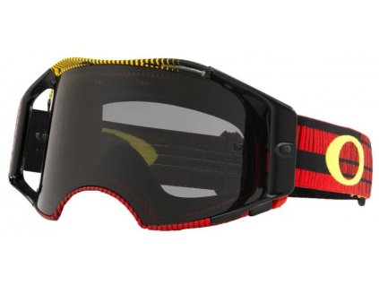 31186 mx bryle oakley airbrake mx frequency red yellow dark grey lens