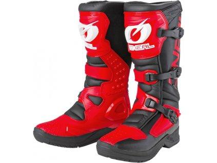 0334 127 boty o neal rsx cerna cervena 39 1