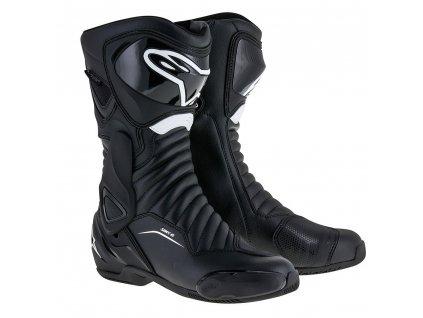 moto boty ALPINESTARS SMX 6 2020  DRYSTAR black