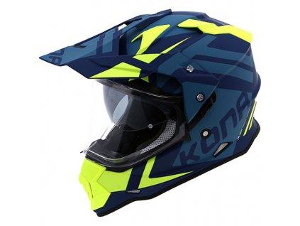 vemar helmet kona desert green fluo yellow