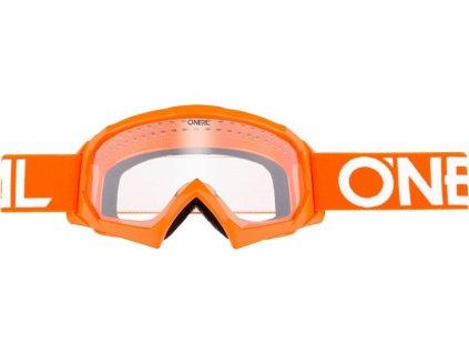 6024 110o b 30 detske bryle solid oranzova bila 1