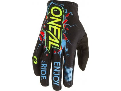 0391 001 detske rukavice o neal matrix villain cerna xs 1 2 1