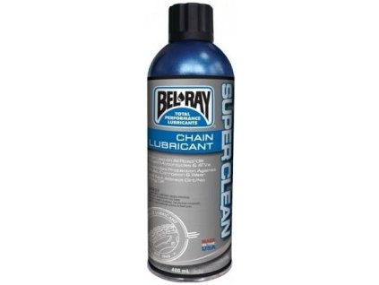 mazání řetězu BELRAY SUPER CLEAN CHAIN LUBE Sprej 400ml