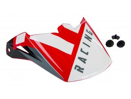 kšilt FLY RACING ELITE červená/černá