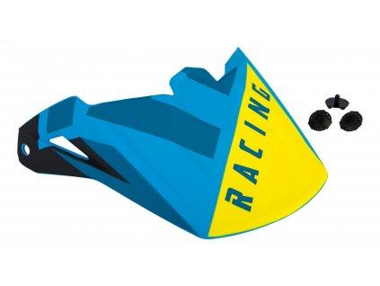 kšilt FLY RACING ELITE modrá/černá