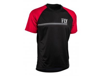 dres FLY RACING ACTION černá/červená
