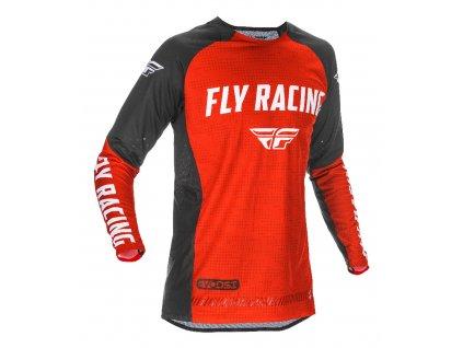 dres FLY RACING EVOLUTION 2021 červená/černá/bílá