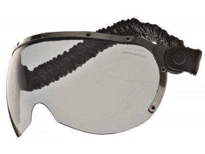 brýle pro přilby AIROH GARAGE tmavé