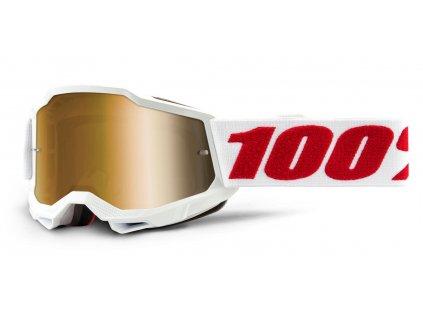 MX brýle 100% ACCURI 2 Denver - True zlaté plexi dětské