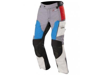 kalhoty ANDES DRYSTAR HONDA kolekce, ALPINESTARS (šedá/červená/modrá)