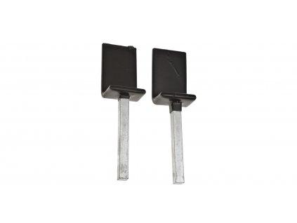 L adaptéry pro zadní hliníkový strojan M002-67, Q-TECH (1 pár)