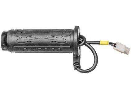 náhradní rukojeť levá pro vyhřívané gripy OXFORD Hotgrips Cruiser a Cruiser Premium