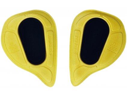 chrániče boků SPIDI COMP HIP vkládací, černý/žlutý
