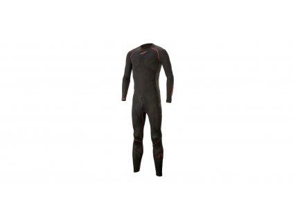 jednodílné funkční prádlo pod kombinézu ALPINESTARS RIDE TECH LITE 1PC 2021 černá/červená