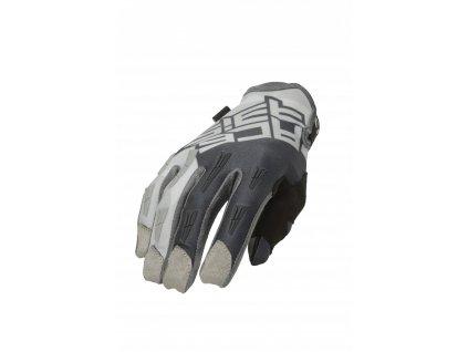 MX rukavice ACERBIS MX X-H šedá