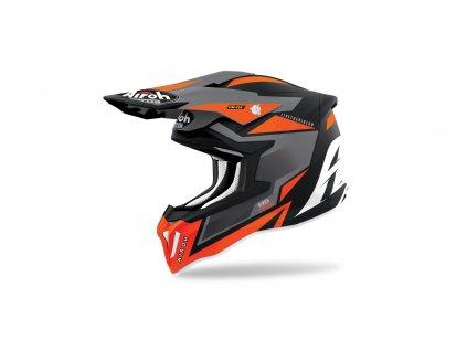 MX helma AIROH STRIKER Axe matná oranžová