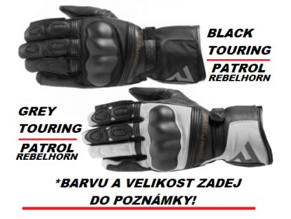 rukavice cestovni adventrue , patrol zdarma k helmam airoh commander