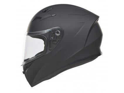 moto přilba NOX N961K dětská černá matná