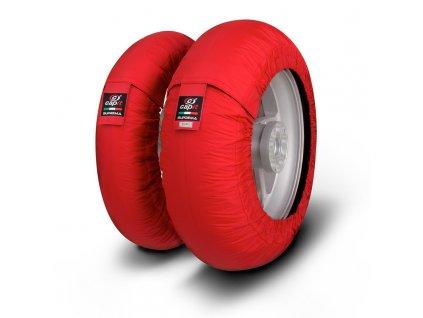 nahříváky pneumatik CAPIT SUPREMA SPINA Moto3 červené