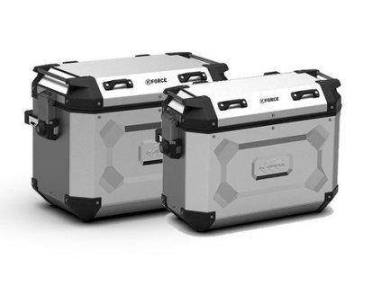 sada bočních hliníkových moto kufrů CAM-SIDE KAPPA K´Force KFR4837APACK2
