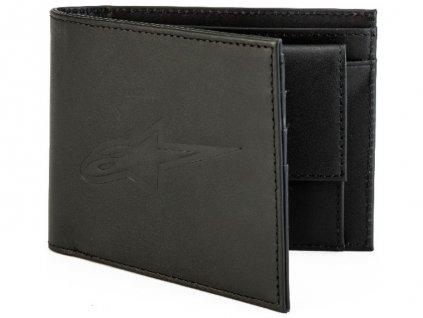 peněženka ALPINESTARS AGELESS LEATHER WALLET černá