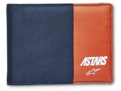 peněženka ALPINESTARS MX WALLET modrá/oranžová