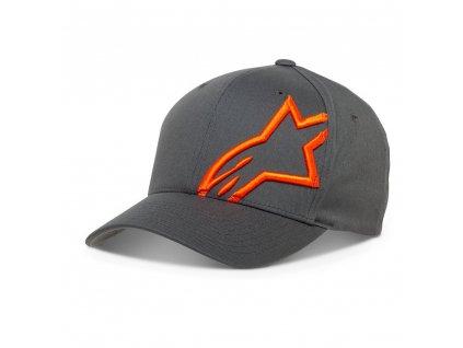 kšiltovka ALPINESTARS  CORP SHIFT 2 FLEXFIT HAT šedá/oranžová