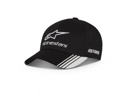 kšiltovka ALPINESTARS  AGX HAT černá/bílá