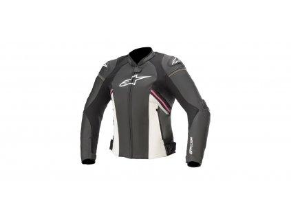 moto bunda ALPINESTARS STELLA GP PLUS R 3 2021 černá/bílá/růžová
